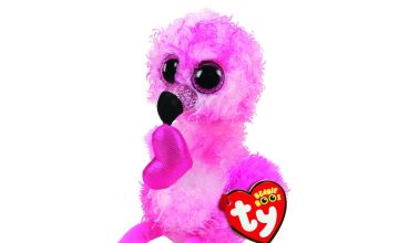 Go to Product: Ty Beanie Boo Small Dainty the Flamingo Soft Toy