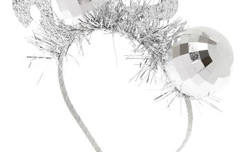 Go to Product: 2020 Disco Headband - Silver