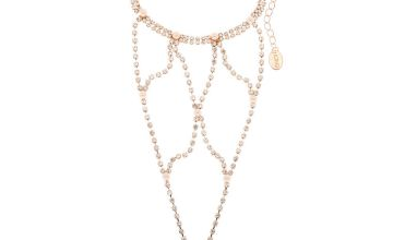 Go to Product: Rose Gold Glam Hand Chain