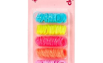 Go to Product: Claire's Club Neon Mini Elastic Hair Bobbles