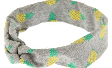 Go to Product: Pineapple Twisted Headwrap - Grey