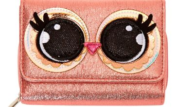 Go to Product: Luna the Owl Trifold Wallet - Pink