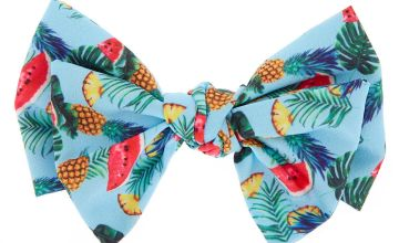 Go to Product: Tropical Fruit Hair Bow Clip - Blue