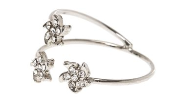 Go to Product: Three Stone Flower Wrap Ring