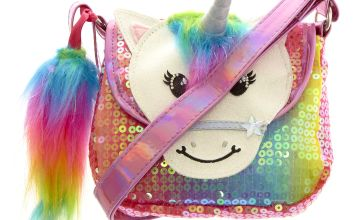 Go to Product: Claire's Club Starbright the Unicorn Rainbow Unicorn Sequin Purse