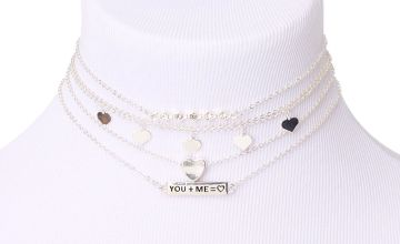 Go to Product: Silver Perfect Match Choker Necklaces - 5 Pack