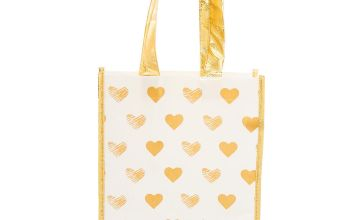 Go to Product: Golden Hearts Reusable Tote Bag
