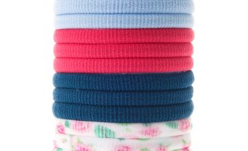 Go to Product: Claire's Club Fabric Hair Bobbles - 12 Pack