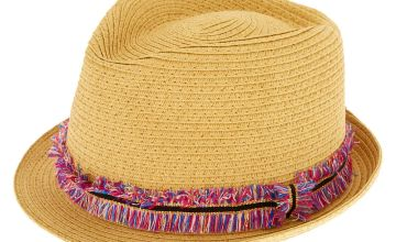 Go to Product: Rainbow Fringe Fedora Hat