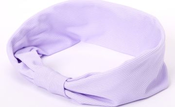 Go to Product: Ribbed Knotted Headwrap - Lilac