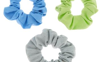 Go to Product: Small Earth Tone Hair Scrunchies - 3 Pack