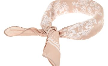 Go to Product: Paisley Satin Bandana Headwrap - Nude