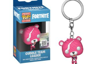 Go to Product: Fortnite Cuddle Team Leader Vinyl Figure Keychain - Pink