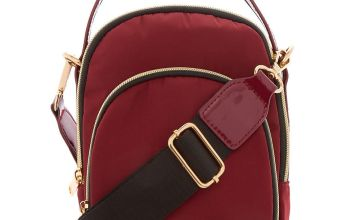 Go to Product: Messenger Crossbody Bag - Burgundy