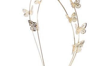 Go to Product: Gold Double Row Butterfly Headband