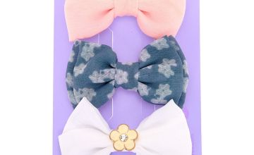 Go to Product: Pastel Floral Hair Bow Clips - 3 Pack