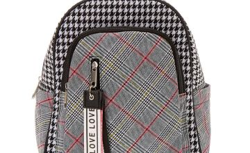 Go to Product: Plaid Houndstooth Midi Backpack