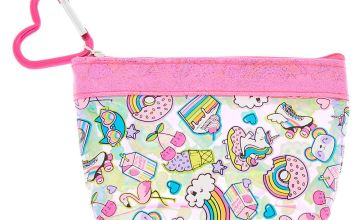 Go to Product: Rainbow Emoticon Zip Coin Purse - Pink