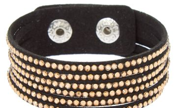 Go to Product: Studded Layered Wrap Bracelet - Copper