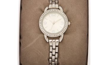 Go to Product: Silver Embellished Link Watch