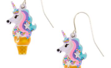 Go to Product: Unicorn Ice Cream Cone Drop Earrings