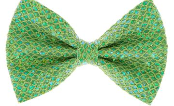 Go to Product: Mermaid Shine Hair Bow Clip - Lime Green