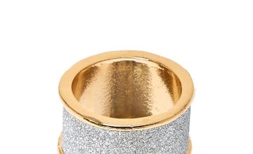 Go to Product: Silver Glitter Tape Band Ring