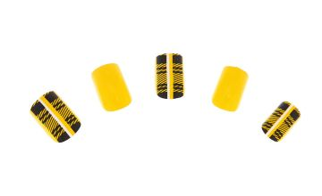 Go to Product: Plaid Square Faux Nail Set - Mustard, 24 Pack