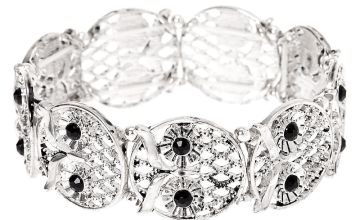 Go to Product: Silver Owl Stretch Bracelet