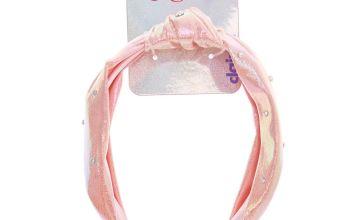 Go to Product: JoJo Siwa™ Iridescent Knotted Headband – Pink