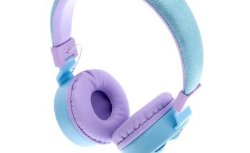 Go to Product: Snowflake Bling Headphones - Blue