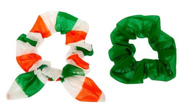 Go to Product: Small Luck of the Irish Hair Scrunchies - 2 Pack