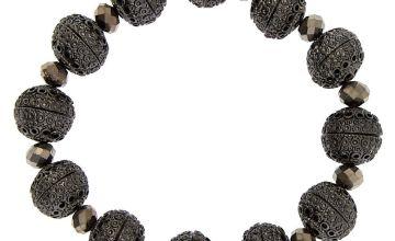 Go to Product: Hematite Bauble Stretch Bracelet