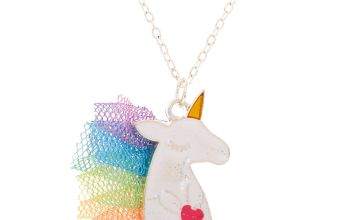Go to Product: Claire's Club Unicorn Mane Pendant Necklace