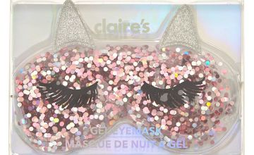 Go to Product: Cat Glitter Cooling Gel Eyemask - Pink