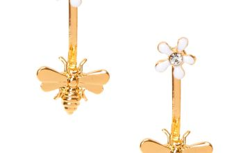 Go to Product: Gold Buzzing Bee Ear Jacket Earrings