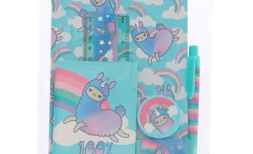 Go to Product: Lala the Llama Rainbow Stationery Set - Turquoise
