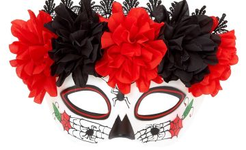 Go to Product: Traditional Day of The Dead Mask