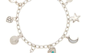 Go to Product: Silver Western Charm Bracelet