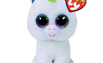 Go to Product: Ty Beanie Boo Medium Pixy The Unicorn Soft Toy