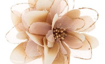 Go to Product: Lily Flower Hair Barrette - Champagne
