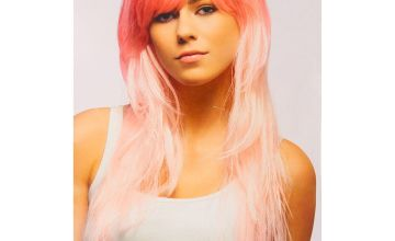 Go to Product: Pink Ombre Style Faux Hair Wig