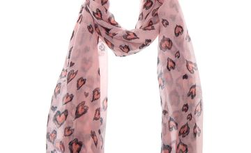 Go to Product: Pink Leopard Heart Fashion Scarf