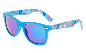 Go to Product: Donut Print Sunglasses - Blue