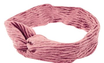 Go to Product: Velvet Twisted Headwrap - Blush Pink