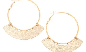 Go to Product: Gold 50MM Metallic Hoop Earrings