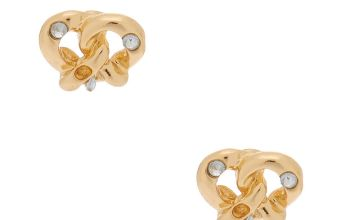 Go to Product: Gold Pretzel Stud Earrings