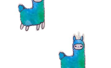 Go to Product: Lala the Llamacorn Stud Earrings - Green