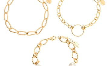Go to Product: Gold Pearl Chain Bracelets - 3 Pack