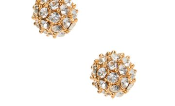 Go to Product: Gold Crystal Fireball Stud Earrings